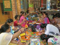 'Toy, Design & Education' workshops for teachers at Katha,New Delhi on 21st, 22nd june 2013